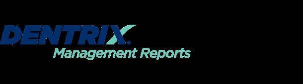 Dentrix Management Reports